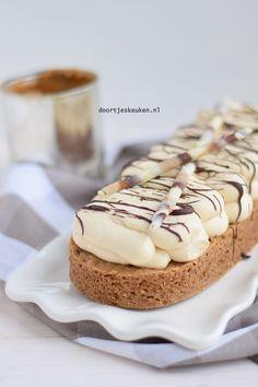 Dutch Recipes, Baking Recipes, Cake Recipes, Dessert Recipes, Pie Cake, No Bake Cake, Mini Desserts, No Bake Desserts, Cake Cookies