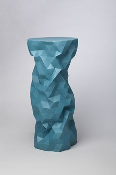 Love the vase from this clever designer and now this beautiful side table