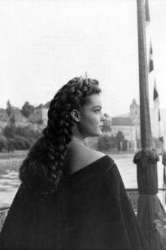 Romy Schneider als junge Kaiserin Sissi