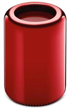 Una edición especial de la MacPro en color rojo va para subasta sería para obra de caridad