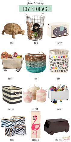 The Best of Toy Storage | Momma Society-The Community of Modern Moms | www.mommasociety.com