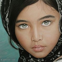 Beautiful color pencil drawing by rapheal pinon http://webneel.com/25-beautiful-color-pencil-drawings-valentina-zou-and-drawing-tips-beginners | Design Inspiration http://webneel.com | Follow us www.pinterest.com/webneel