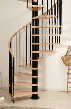 Wooden Spiral Staircase Kits and Plans Online | Wood Stairs