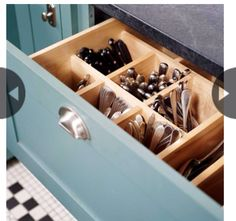 Deep pull out drawers