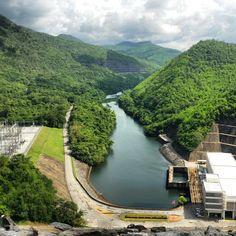 Srinakarin Dam , Kanchanaburi Thailand