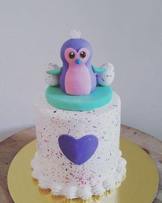 cake for Leighton! Couldn't find any good hatchimal cake design for inspiration so i figured why not make my own?this is the end result. Quite happy that it turned out well 6th Birthday Parties, 8th Birthday, Birthday Ideas, Little Girl Birthday, Birthday Cake Girls, Bithday Cake, Summer Cakes, Girl Cakes, Cupcakes