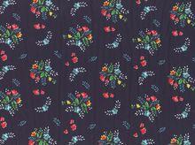 Vintage Market Floral Knit Navy