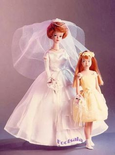 The Bride and the Flower Girl, from the collection of Gene Foote.