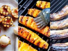 The intense heat from the grill helps to caramelize the natural sugar in fruit, making it even more delicious. Grilled Bananas, Grilled Fruit, Grilled Peaches, Rub Recipes, Grilling Recipes, Meat Recipes, Bbq Dry Rub, Dry Rubs, Smoked Beef Short Ribs