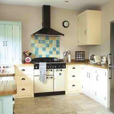 My Lovely Home: Kuchyně 3 Shaker Style Kitchens, Shaker Kitchen, Kitchen Units, Kitchen Cabinets, Kitchen Ideas, Kitchen Paint, Colorful Furniture, Cheap Furniture, Kitchen Furniture