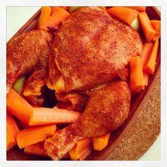 Kyckling i lergryta  Ett väldigt enkelt och gott recept från någon av mammas…