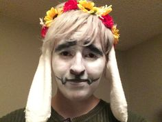 Another Asriel cosplay by me! Undertale Cosplay, Flower Crown, Cosplay Costumes, Flowers, Crown Flower, Floral Crown, Flower Crowns, Royal Icing Flowers, Flower