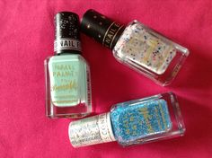 Barry m nail varnishes. Love this a lot! #nails