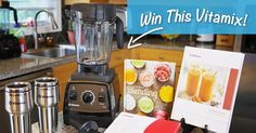 Enter to Win a Brand New  Vitamix Bundle at http://vitamixcontest.develophealth.com. No Purchase Necessary. Enter your Chance  to Win today!
