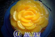 Tort de piersici - Culinar.ro