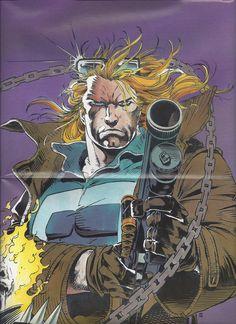 Johnny Blaze Poster from Spirits of Vengeance