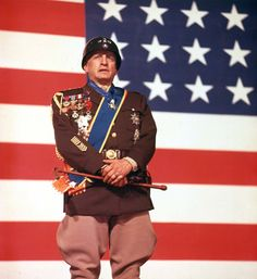 """George C. Scott was """"Patton"""" (1970) - one of the movies I looked for after I came home from my mission"""