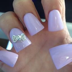 Nails: Pastel nails trend and inspirations Fabulous Nails, Gorgeous Nails, Pretty Nails, Amazing Nails, Flare Acrylic Nails, Duck Feet Nails, Fan Nails, Pastel Nails, Pastel Purple