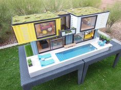 a custom container beach home designed for a client in Melbourne, Australia…