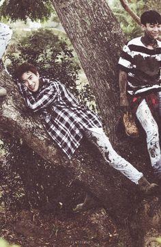 SCAN #Suho #EXO Dear Happiness #Photobook