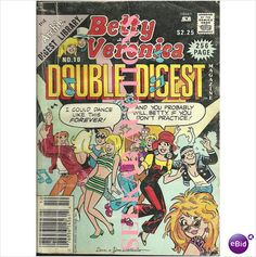 Betty and Veronica Double Digest Magazine Comic #10 December 1988 Archie Digest on eBid Canada