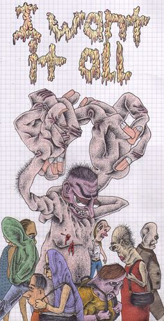 Featured Image for Steve Girard's nightmarish illustrations