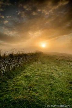 Hadrian's Wall, the Scottish Borders, Scotland Beautiful Places In England, Beautiful World, Scotland Uk, Scotland Travel, Highlands, Northern England, English Countryside, British Isles, Beautiful Landscapes