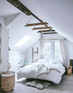Attic loft.