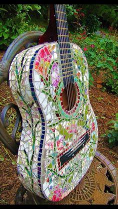 Mozaïek gitaar