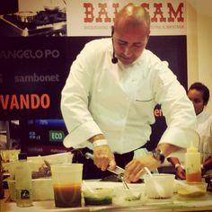 chef Héctor Carpio y camacutos