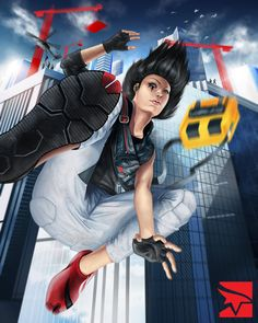 Faith - Mirror's Edge 2 by ProjectVirtue.deviantart.com on @deviantART