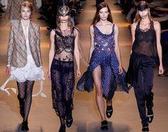 John Galliano Spring/Summer 2016 Collection  #fashion #runway #catwalk