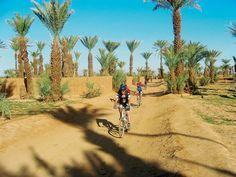In the desert in Morocco