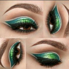 gorgeous green eye makeup