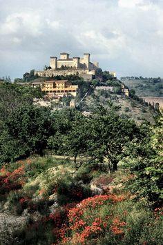La Rocca Albornoziana, Spoleto, Italy