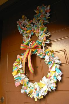 Bunny Shaped Wreath