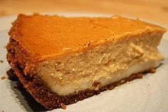 Diabetic Recipes - Pumpkin Cheesecake--ew10813