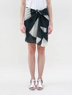 Christian Wijnants Sainin Wrap Skirt-Triangles