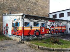 Artist: unknown  Location: Riga Latvia  ℹ More info at StreetArtRat.com  #travel #streetart #street #streetphotography #tflers #sprayart #urban #urbanart #urbanwalls #wall #wallporn #graffitiigers #stencilart #art #graffiti #instagraffiti #instagood #artwork #mural #graffitiporn #photooftheday #streetartistry #pasteup #instagraff #instagrafite #streetarteverywhere #riga #latvia #fire