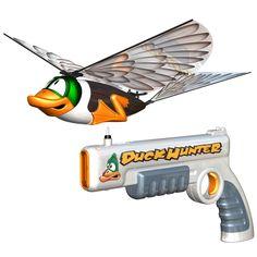 The Live Action Flying Duck Hunt - Hammacher Schlemmer