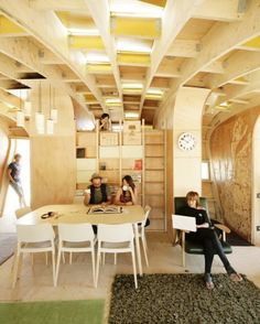 """The house is no longer a machine but an organism to be inhabited."" 