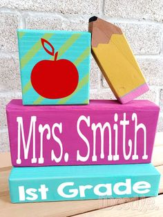 Hey, I found this really awesome Etsy listing at https://www.etsy.com/listing/212277618/personalized-teacher-decor-personalized