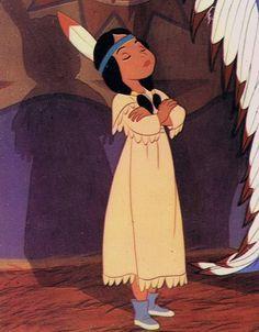 *PRINCESS TIGER LILY ~ Peter Pan, 1953