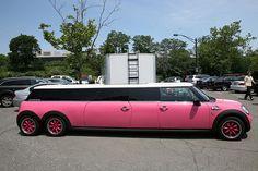 streeeeeetch pink limo