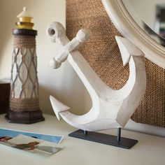 Keep a reminder of the sea on display in your home.