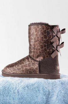 UGG Glitter Bow Boot