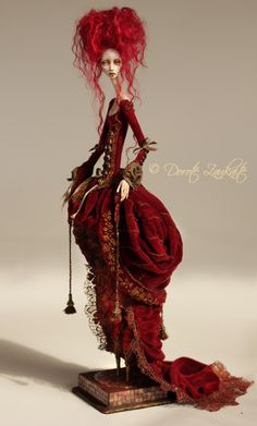 Lady_in_Waiting : Doll by Dorote Zaukaite (TirelessArtist)