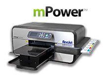 mPower Digital Apparel Printer | Direct to Garment Printing | AnaJet