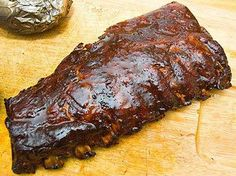 """Deberry's Prize Winning Slow Oven BBQ Ribs – the secret to tenderness in your kitchen! Even if the weather isn't conducive for grilling out, you can still enjoy mouth-watering BBQ ribs. This is the taste and tenderness that wins BBQ competitions and you'll be named the """"Champ."""""""