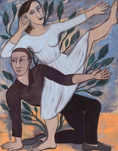 Eileen Cooper RA 's DANCING AND SOLITUDE at the RA Summer Exhibition 2015